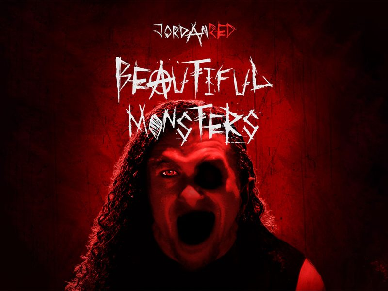 Jordan Red - Beautiful Monsters single cover art